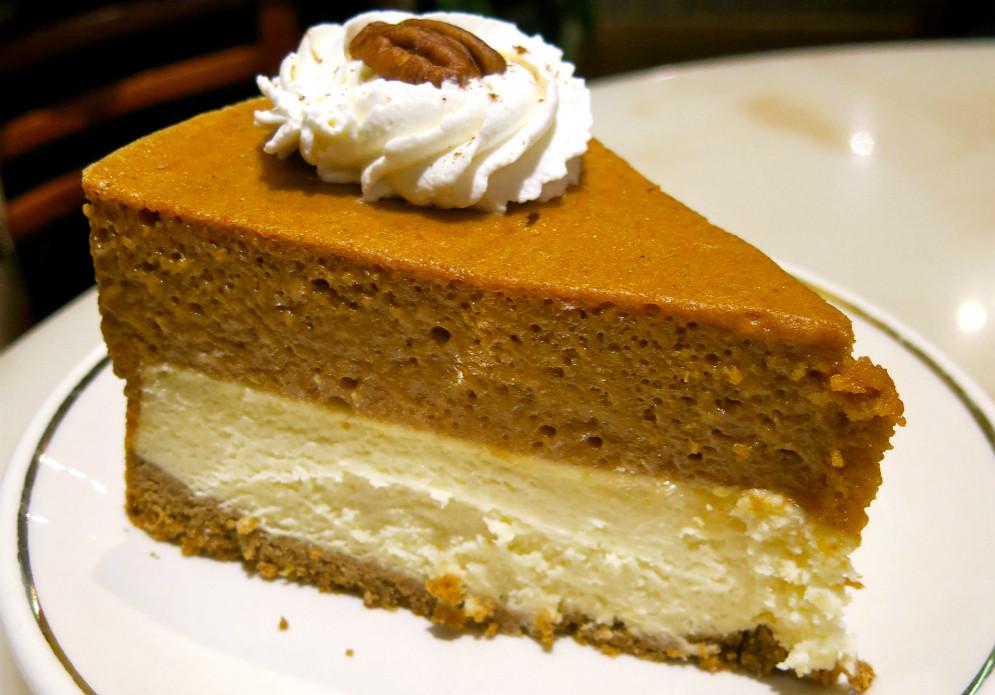 Double Layer Pumpkin Pie  Double Layer Pumpkin Pie Recipe ObesityHelp