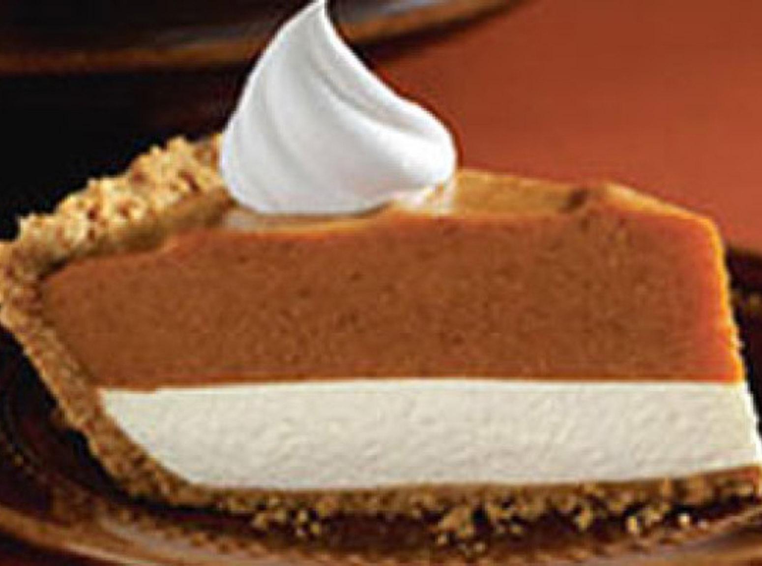 Double Layer Pumpkin Pie  Double Layer Pumpkin Pie Recipe 6