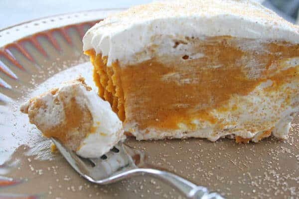 Double Layer Pumpkin Pie  Dutch Apple Pie with White Chocolate Butter Sauce Oh