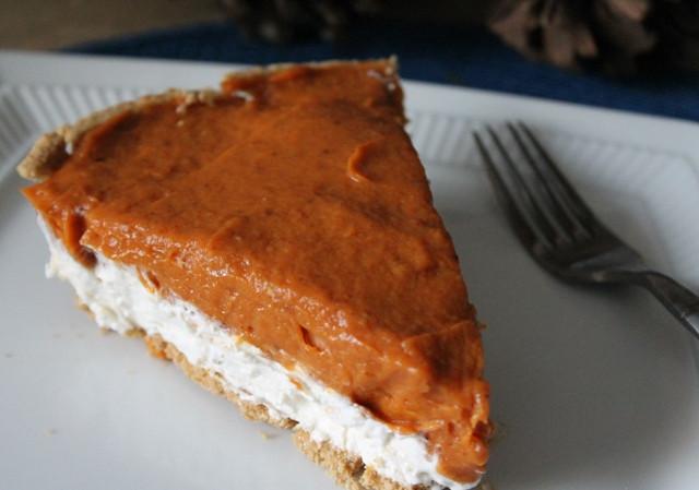 Double Layer Pumpkin Pie  cream cheese pumpkin pie Archives – My Recipe Reviews