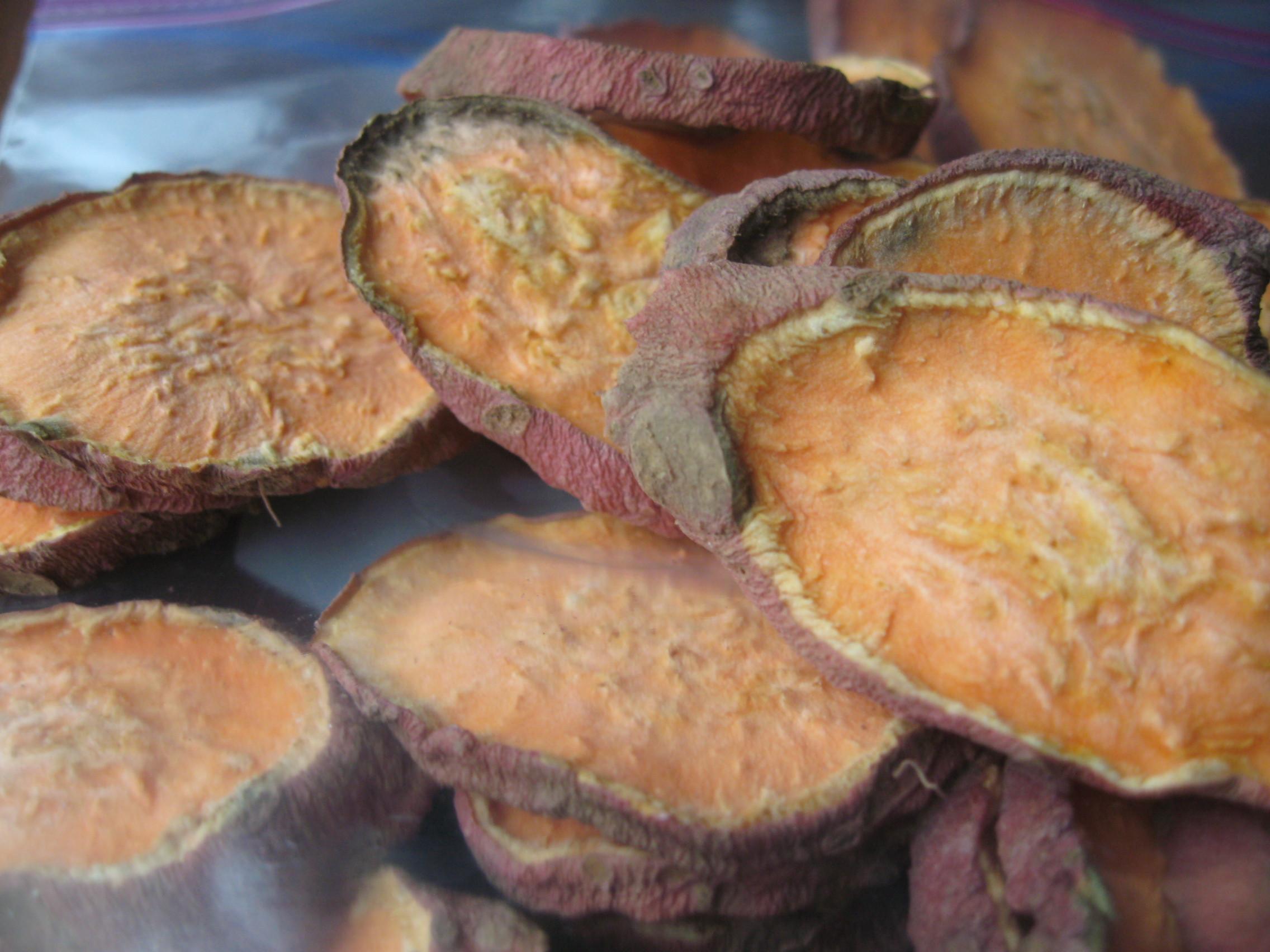 Dried Sweet Potato  dried sweet potatoes for dogs