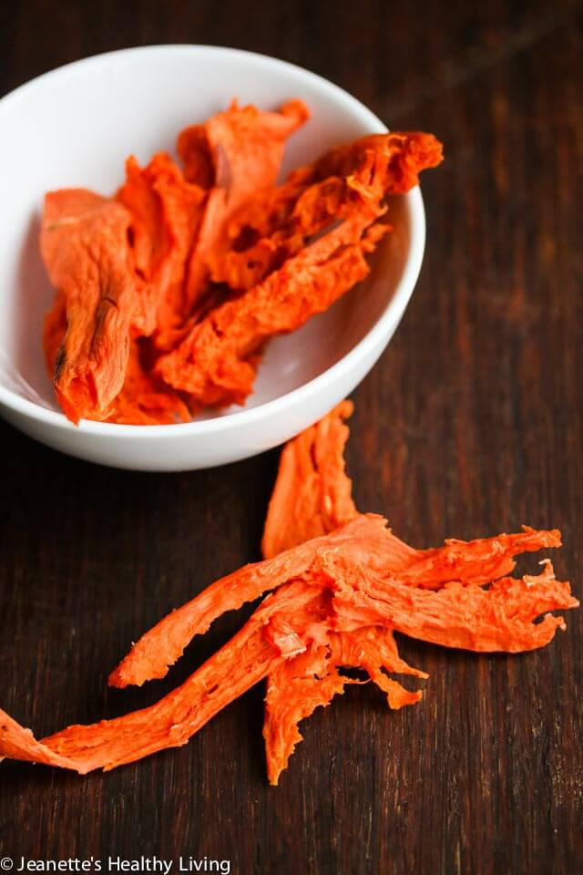 Dried Sweet Potato  Dried Sweet Potato Dog Treats Recipe