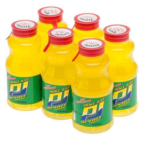 Drinking Pickle Juice  Academy Pickle Juice Sport Drink 6 Pack