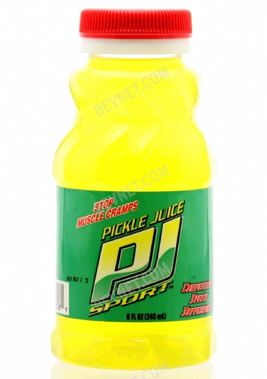 Drinking Pickle Juice  View Media 6167 Pickle Juice Sport 8oz