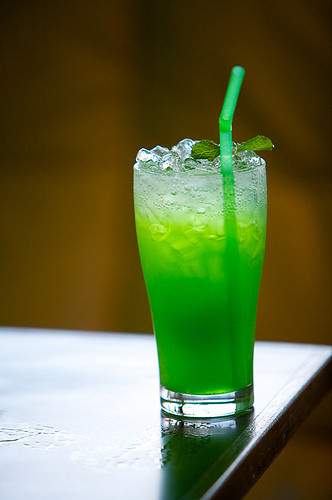 Drinks Mix With Vodka  Cocktail Recipe All Green