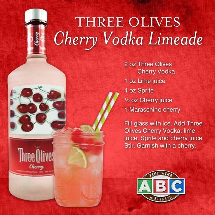 Drinks Mix With Vodka  25 Best Ideas about Cherry Vodka Drinks on Pinterest