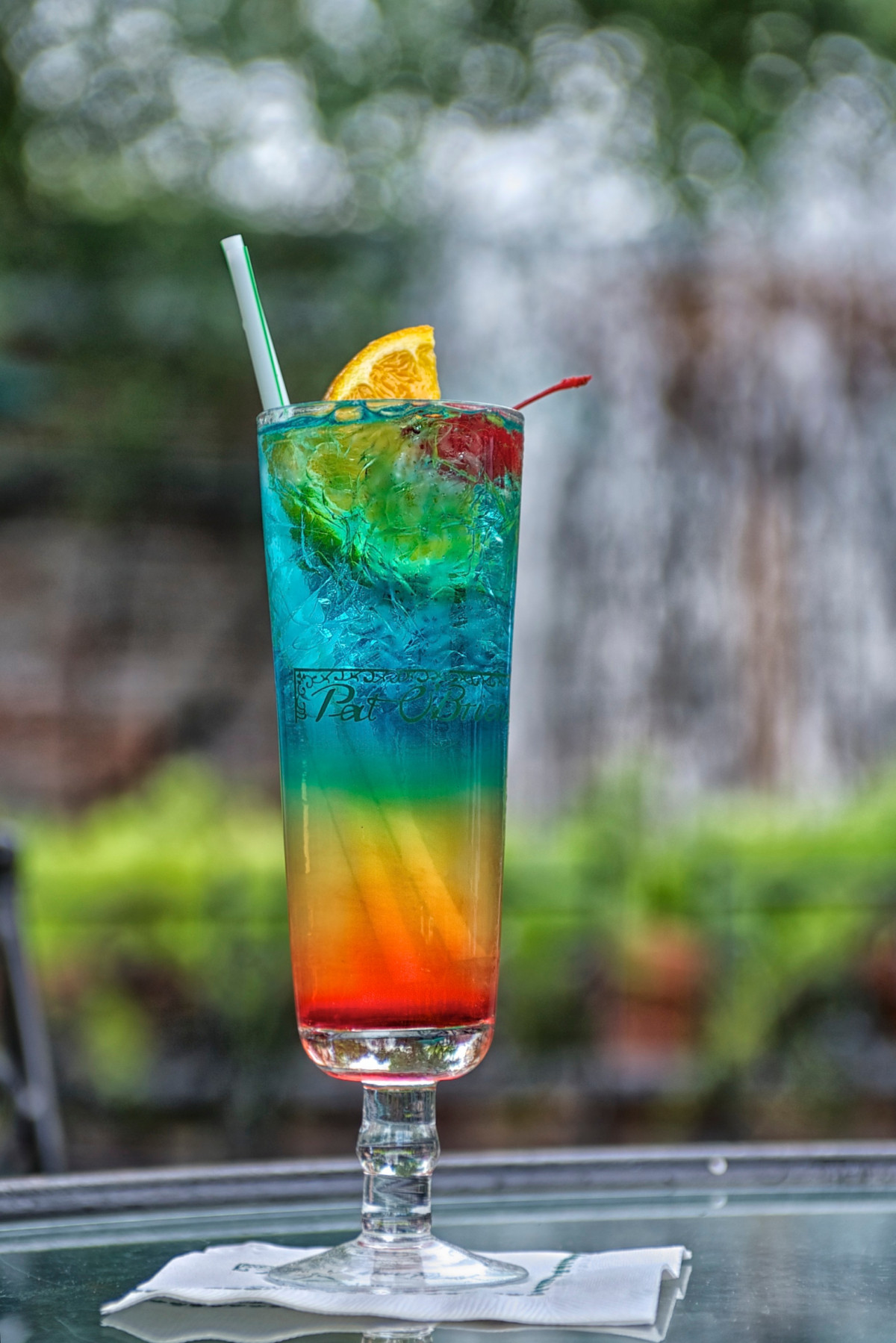 Drinks Mix With Vodka  Pat O Breins Rainbow Cocktail