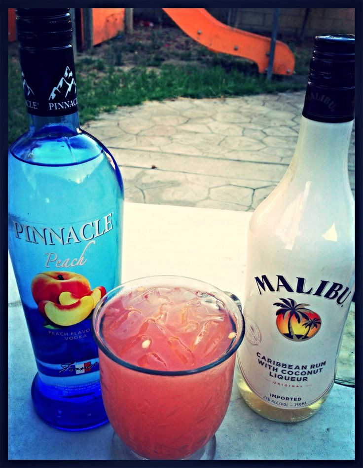 Drinks To Make With Vodka  25 best ideas about Peach vodka drinks on Pinterest