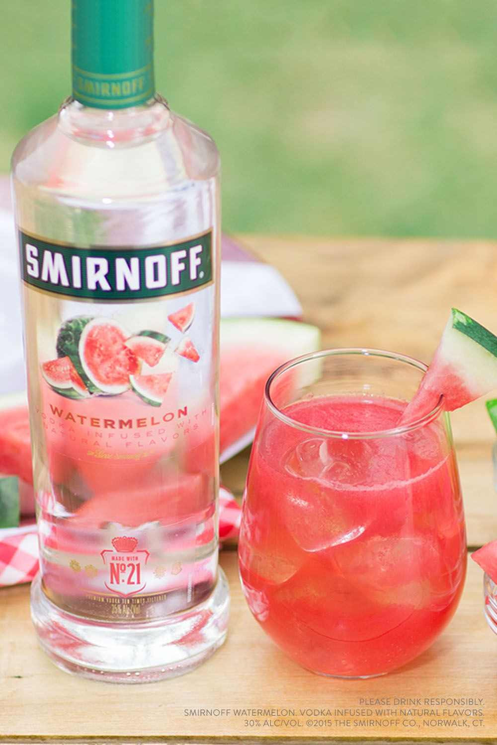 Drinks To Make With Vodka  Watermelon smash Recipe