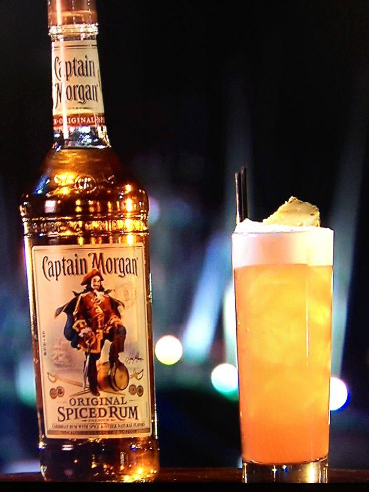 Drinks With Captain Morgan Spiced Rum  25 bästa Captain morgan drinks idéerna på Pinterest