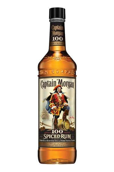 Drinks With Captain Morgan Spiced Rum  Captain Morgan 100 Proof Spiced Rum Price & Reviews