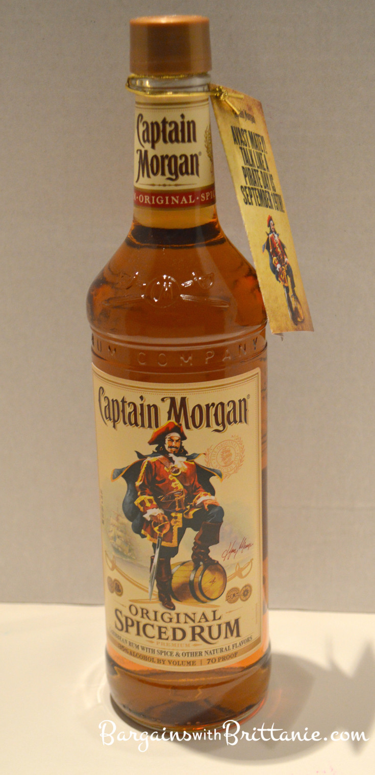 """Drinks With Captain Morgan Spiced Rum  Celebrate """"Talk Like A Pirate Day"""" with Captain Morgan"""