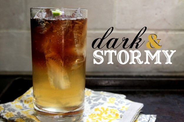 Drinks With Dark Rum  Dark and Stormy Rum Cocktail Recipe