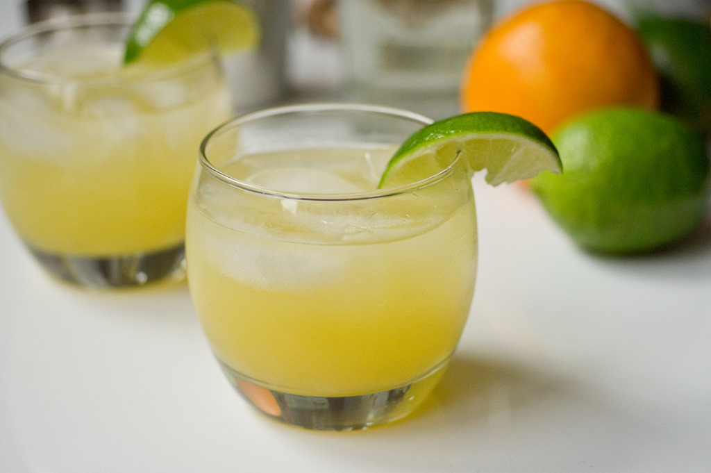 Drinks With Tequila  Skinny Spicy Tequila Cocktail