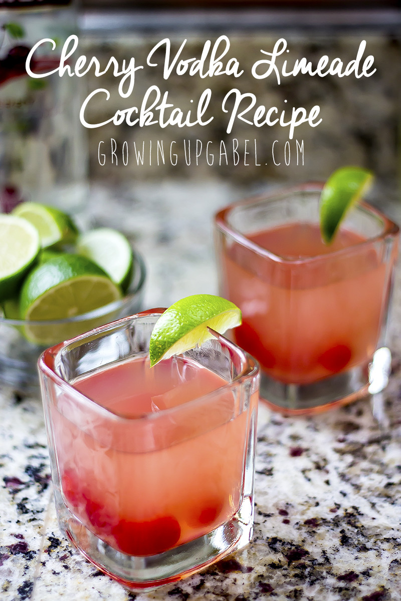 Drinks With Vodka  Cherry Limeade Vodka Cocktail Recipe
