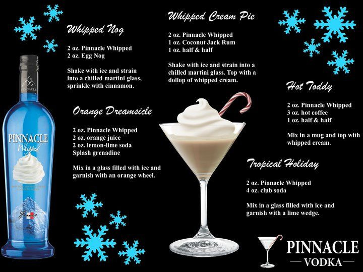 Drinks With Whipped Cream Vodka  15 Must see Pinnacle Vodka Drinks Pins