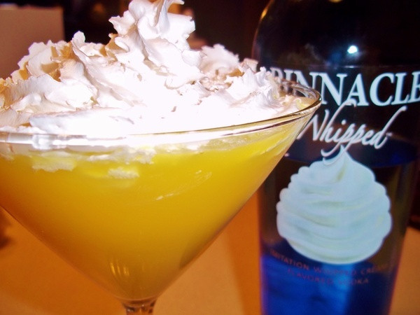 Drinks With Whipped Cream Vodka  Orange Creamsaver Martini Whipped Vodka Recipes drinks