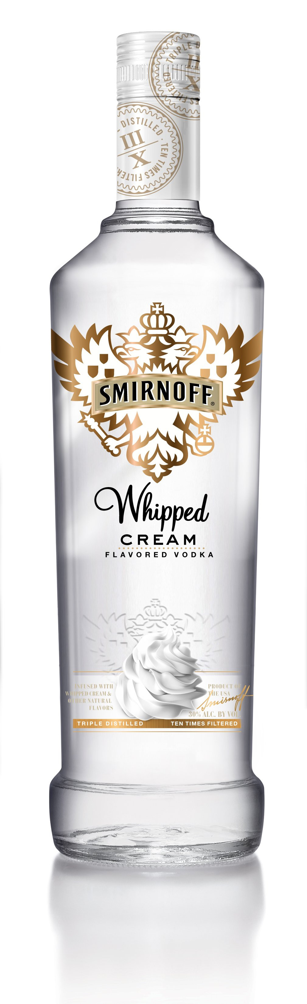 Drinks With Whipped Cream Vodka  Review Smirnoff Whipped Cream and Fluffed Marshmallow