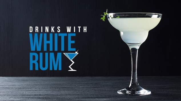 Drinks With White Rum  White Rum Shots Cocktails & Drink Recipes