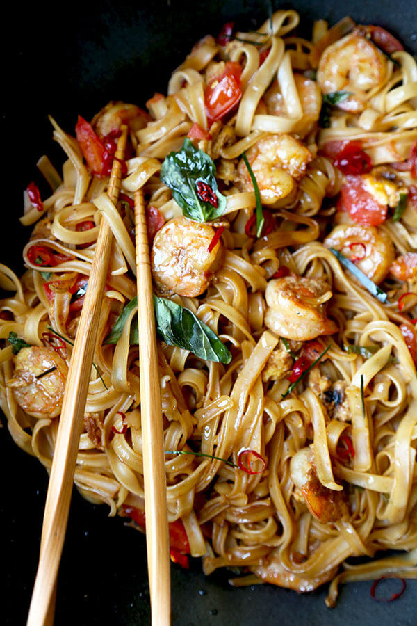 Drunken Noodles Vs Pad Thai  Drunken Noodles Pad Kee Mao Pickled Plum Food And Drinks
