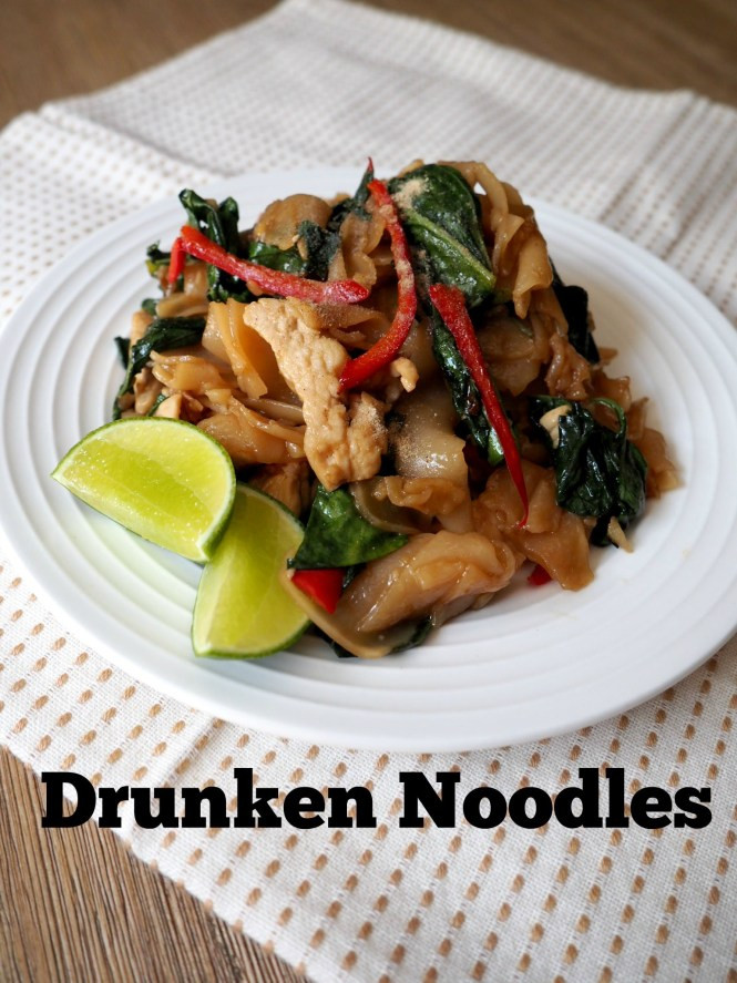 Drunken Noodles Vs Pad Thai  Pad Kee Mao Drunken Noodles Sav s Thai Kitchen