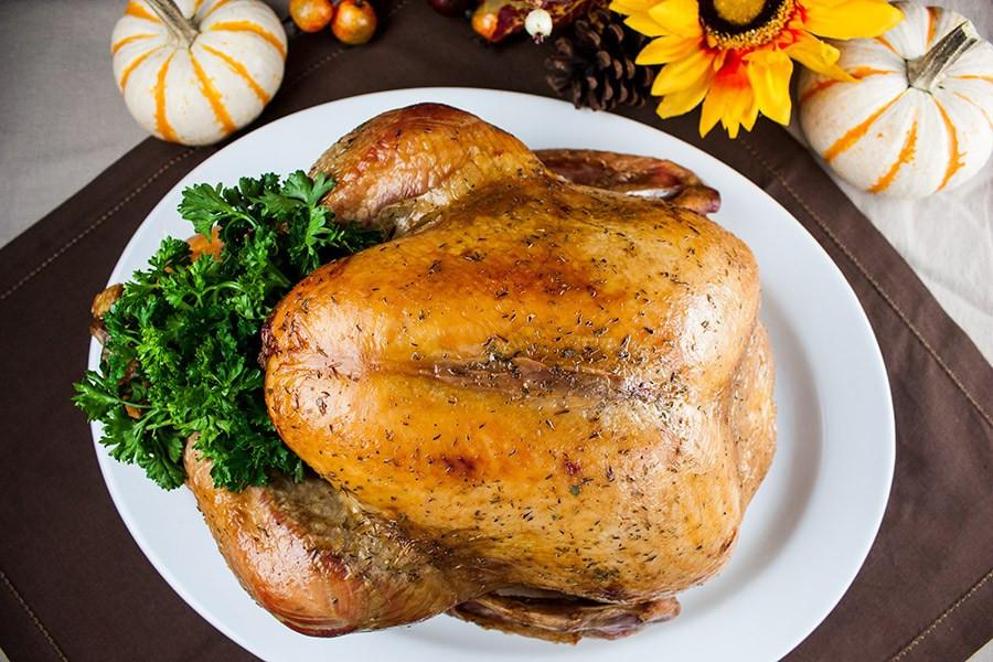 Dry Brine Turkey Recipe  Simple Succulent Dry Brined Roast Turkey Don t Sweat The