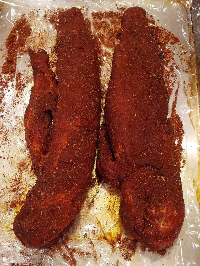 Dry Rub For Pork Tenderloin  34 best images about Recipes pork dry rub on Pinterest