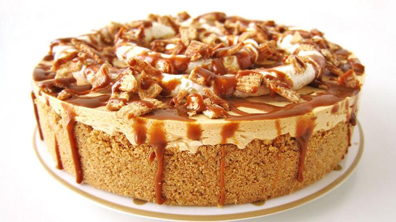 Dulce De Leche Desserts  No Bake Dulce de Leche Cheesecake recipe from Tablespoon