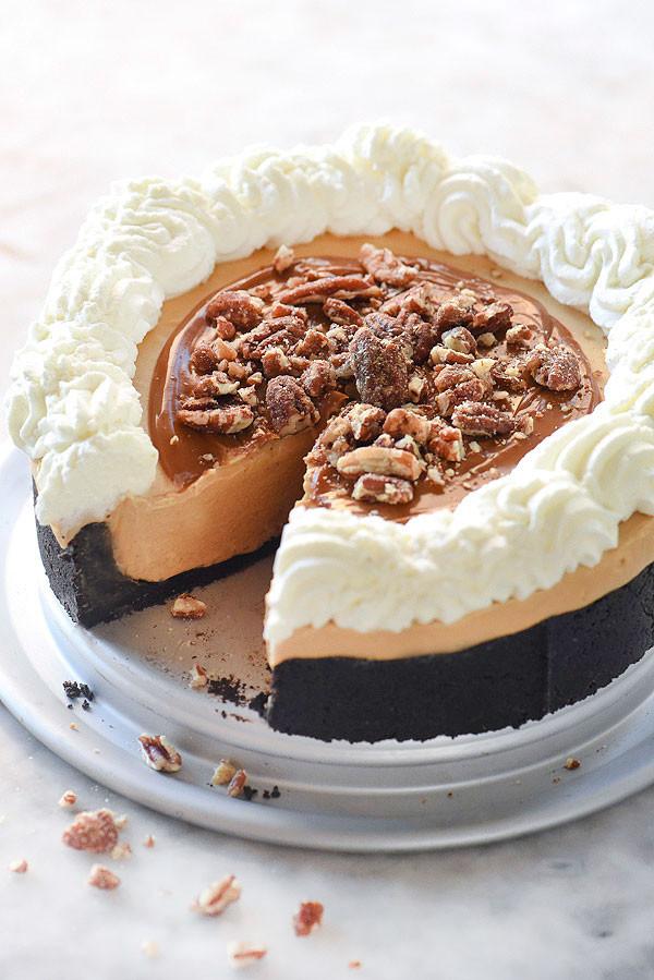 Dulce De Leche Desserts  No Bake Dulce de Leche Pie Recipe