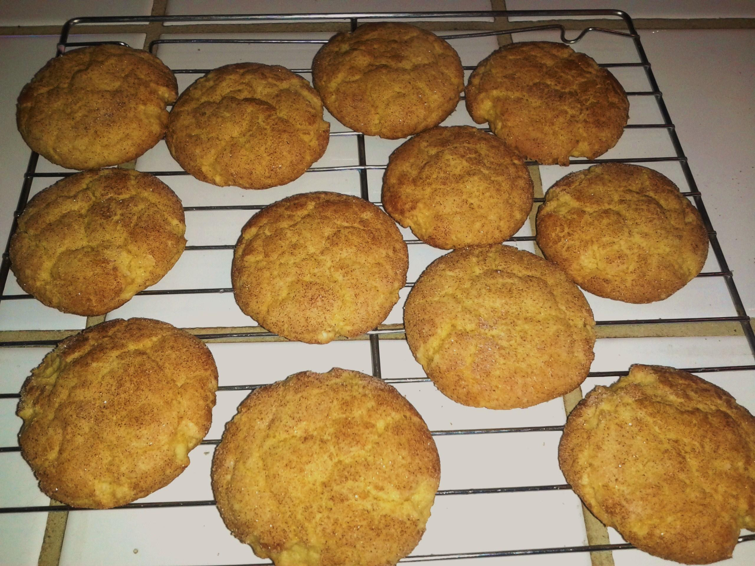 Duncan Hines Cake Mix Cookies  Snickerdoodles