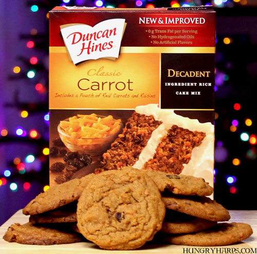 Duncan Hines Cake Mix Cookies  Hungry Harps Carrot Cake Cookies