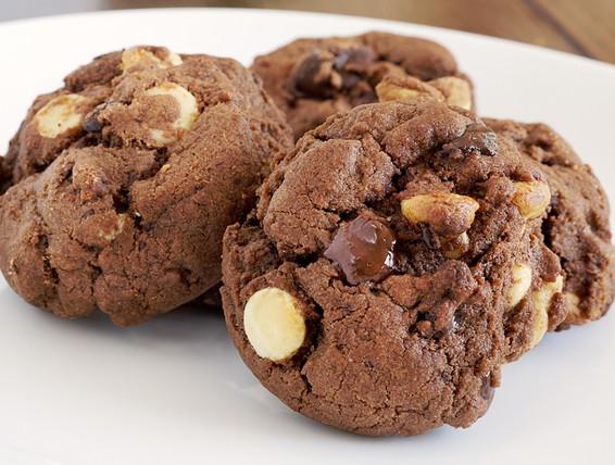 Duncan Hines Cake Mix Cookies  Recipe Triple Chocolate Cookies
