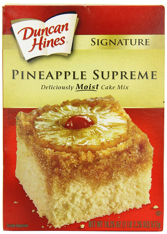 Duncan Hines Pineapple Upside Down Cake Recipe  duncan hines pineapple upside down cake