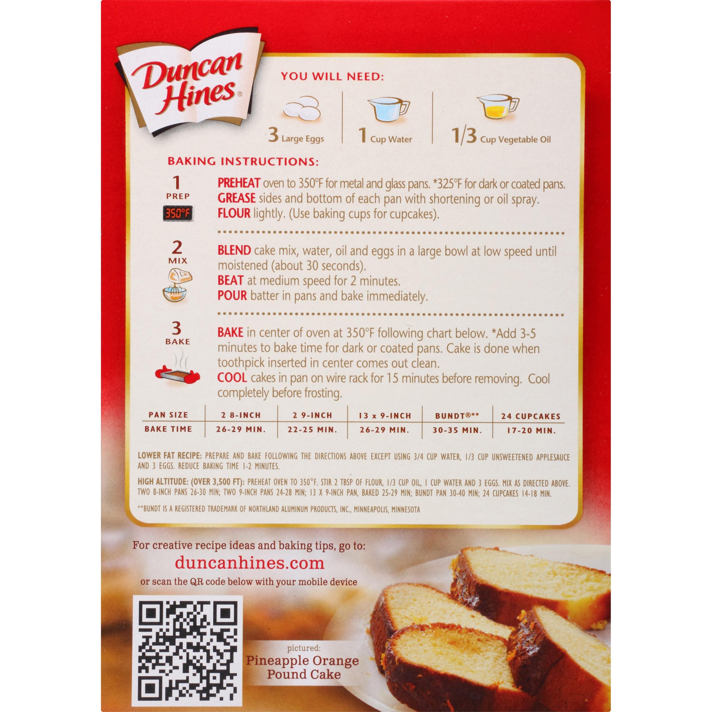 Duncan Hines Pineapple Upside Down Cake Recipe  duncan hines pineapple pound cake