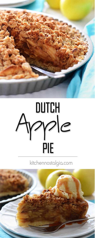 Dutch Apple Pie Crumb Topping  Dutch Apple Pie