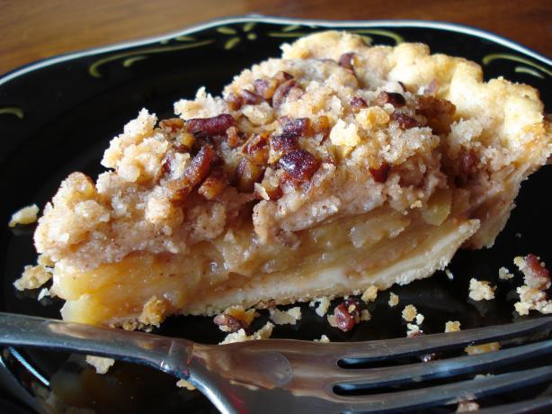 Dutch Apple Pie Crumb Topping  Pennsylvania Dutch Apple Crumb Pie Recipe Food
