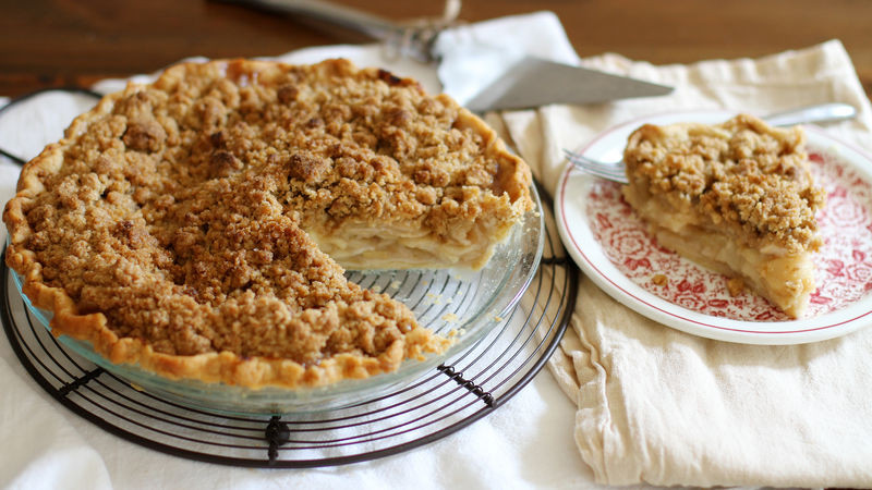 Dutch Apple Pie Crumb Topping  Dutch Apple Pie Recipe BettyCrocker