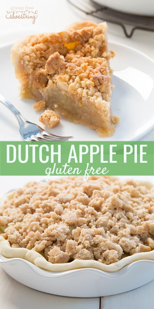Dutch Apple Pie Crumb Topping  Gluten Free Dutch Apple Pie Great Gluten Free Recipes