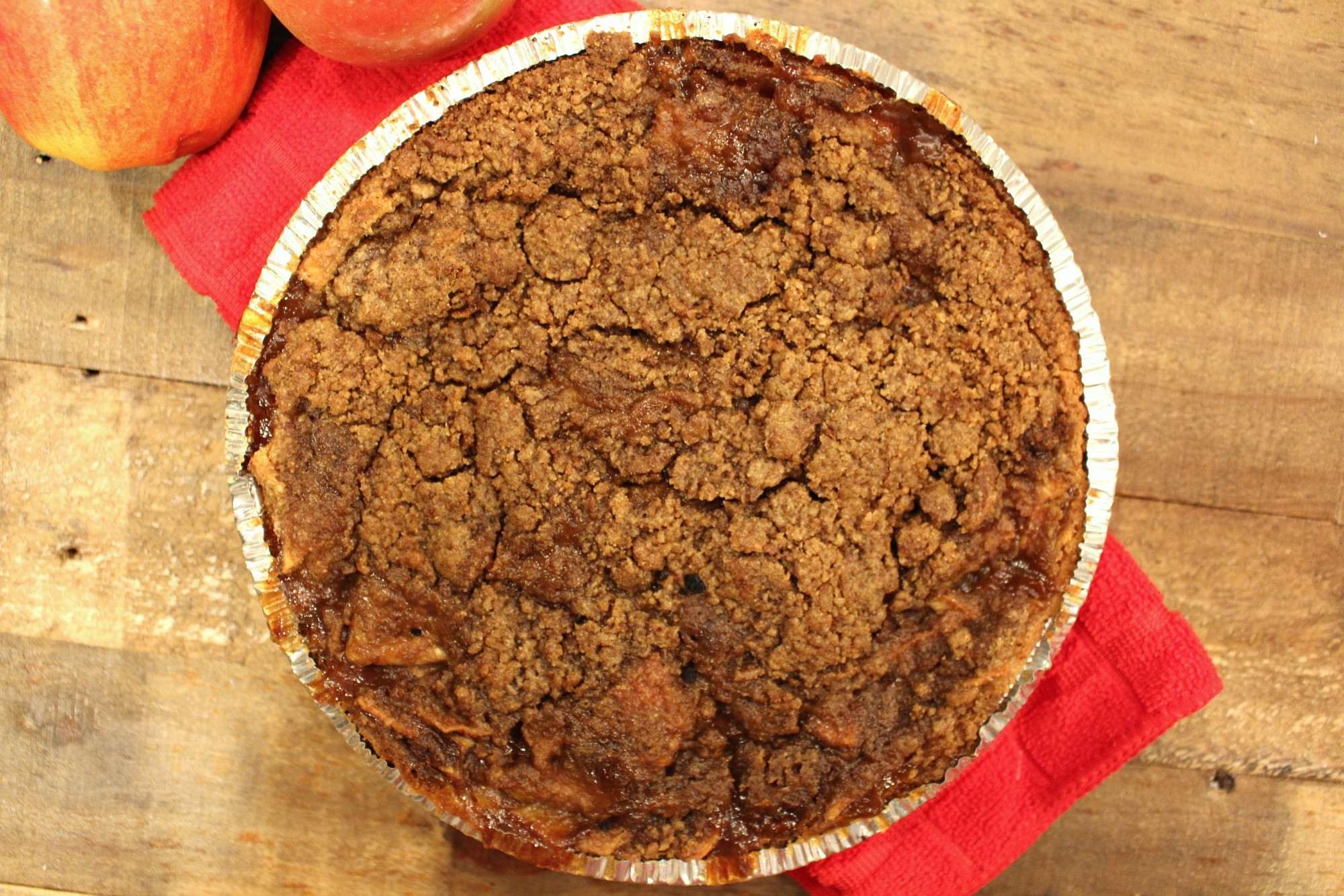 Dutch Apple Pie Crumb Topping  So Simple Graham Cracker Dutch Apple Pie