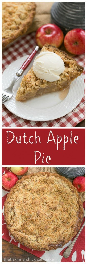 Dutch Apple Pie Topping  Dutch apple pie