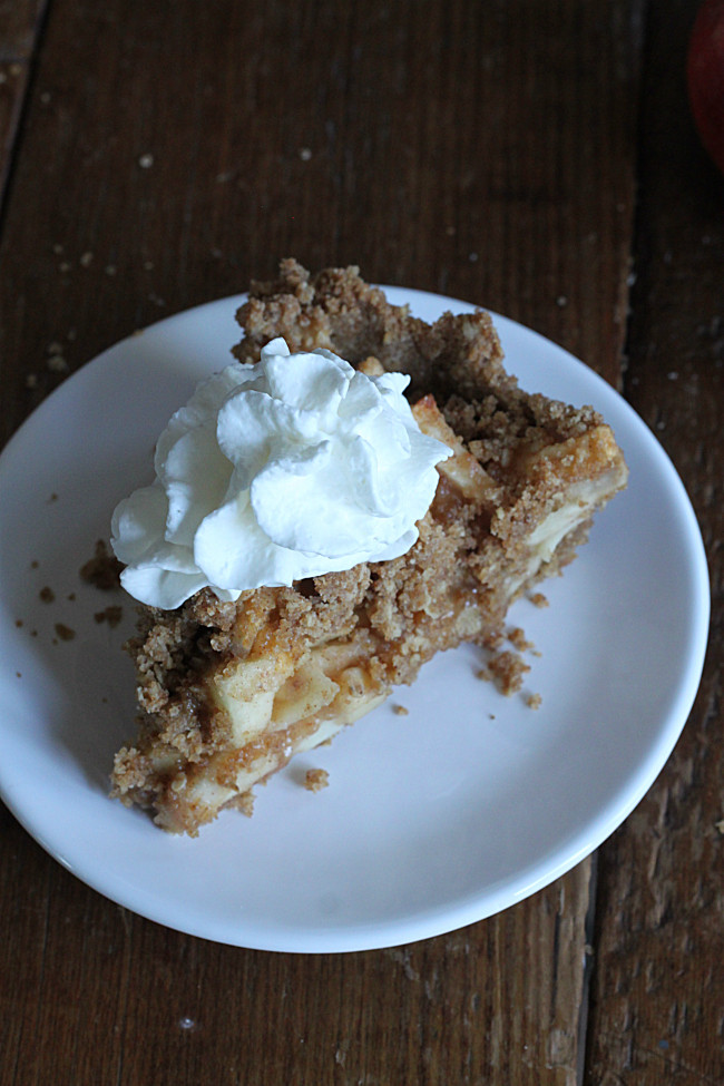 Dutch Apple Pie Topping  Dutch Apple Pie with Brown Butter Crust Golden Barrel
