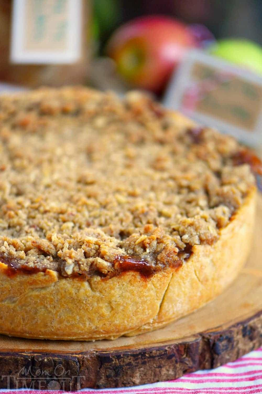 Dutch Apple Pie Topping  Deep Dish Dutch Apple Pie Mom Timeout