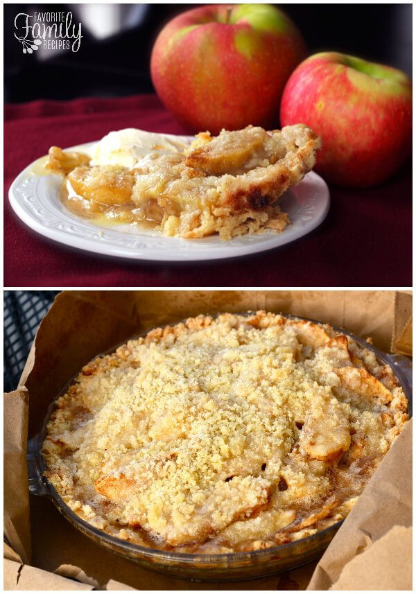 Dutch Apple Pie Topping  Dutch Apple Pie With Crumble Topping Favorite Family