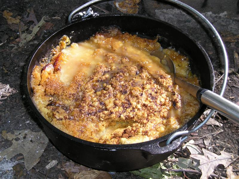 Dutch Oven Dessert  Our First Sukkot & Learning To Cook Over An Open Fire