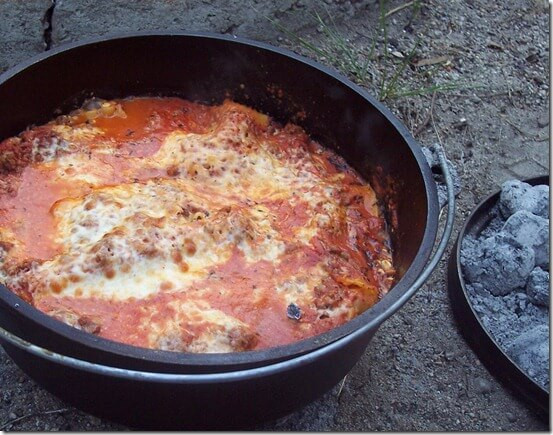 Dutch Oven Desserts Camping  101 Stress Free Camping Food Ideas