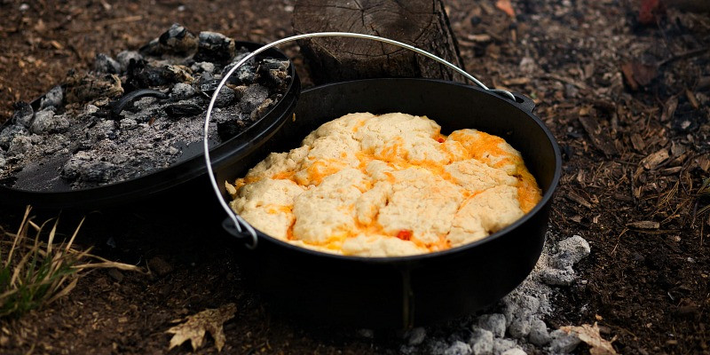 Dutch Oven Desserts Camping  5 Layer Dutch Oven Country Breakfast Camping Recipe