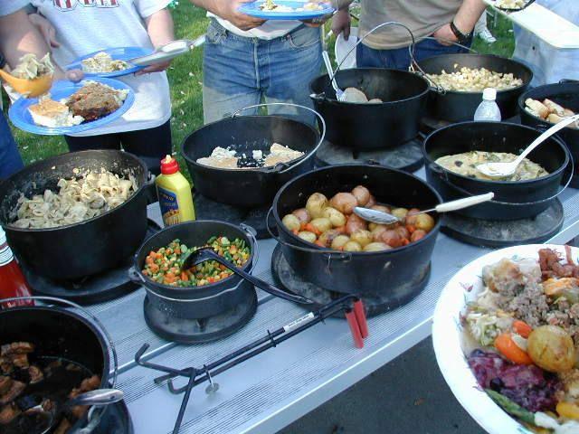 Dutch Oven Desserts Camping  dutch oven recipes camping Pinterest