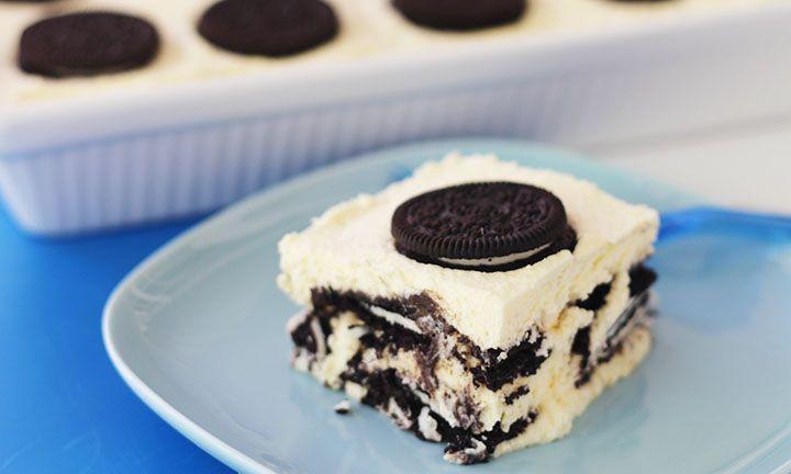 Easiest Desserts To Make  How to make 3 ingre nt Oreo dessert recipe Kidspot