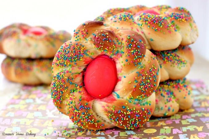 Easter Bread Recipe  Pane di Pasqua Italian Easter bread recipe
