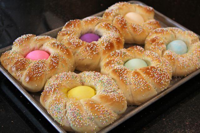 Easter Bread Recipe  Catholic Cuisine Italian Easter Bread